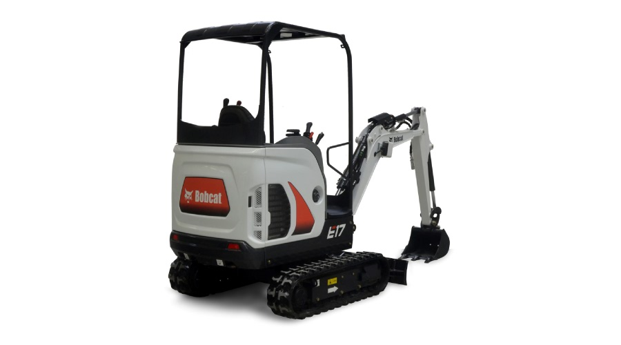 Bobcat E17 Decal Set for mini excavators