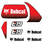 Bobcat E19 Decal Set