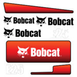 Bobcat E25 Decal Set