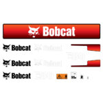 Bobcat E80 Decal Set