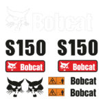 Bobcat S150 Decal Set