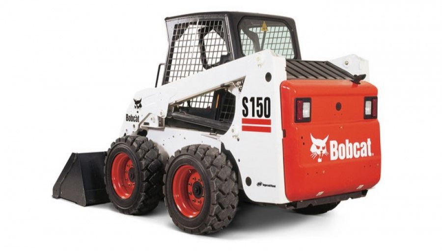 Bobcat S150 Decal Set on skid steer loader