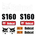 Bobcat S160 Decal Set