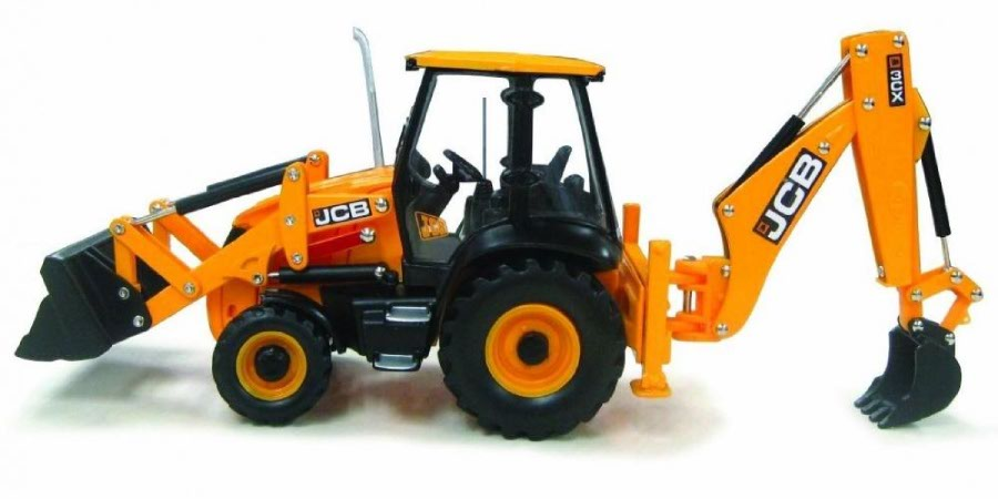JCB 3CX Decal Set on digger