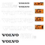 Volvo EC55C Pro Decal Set