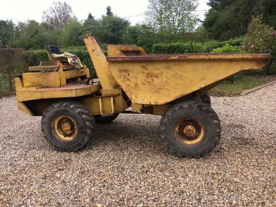 Dumper in need of a new Thwaites Alldrive Decal Set